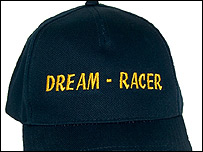 Photo of the Dream-Racer control cap