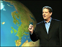 Former US Vice-President Al Gore. File photo