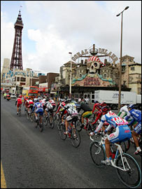 Tour of Britain in Blackpool