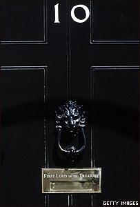 Puerta de Downing Street