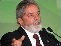 Inacio Lula da Silva, presidente de Brasil