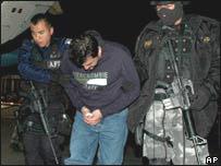 Captura de sospechoso en México