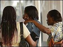 Worried friends and relatives arrive at Kenya's Jomo Kenyatta International Airport