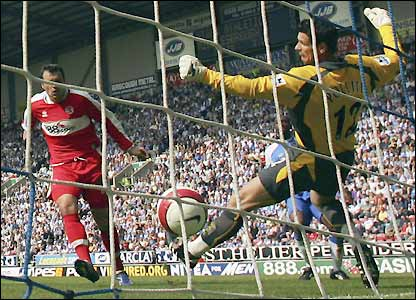 Viduka gives Michael Pollitt little chance