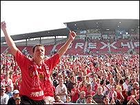 Wrexham fans