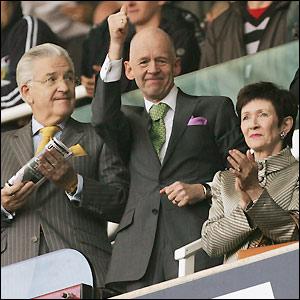 West Ham chairman Eggert Magnusson savours victory