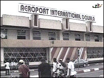 The airport in Douala, Cameroon