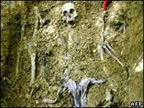 مقابر جماعية في كولومبيا