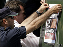 Reward poster for Madeleine McCann