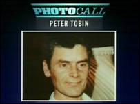 Peter Tobin on Crimewatch