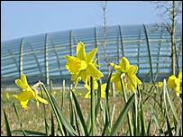 Glasshouse at National Botanic Garden of Wales