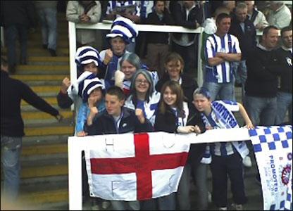 Hartlepool fans