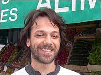 Felicien Boncenne, 27, who works for a sports website