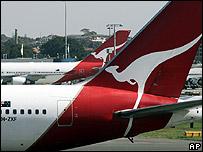 Qantas jets