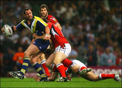 Warrington's Adrian Morley