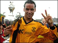 Carmarthen Town striker Kaid Mohamed