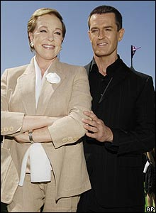 Dame Julie Andrews and Rupert Everett