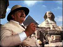Hercule Poirot in Agatha Christie's Death on the Nile