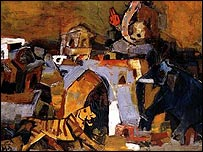 Painting by MF Husain