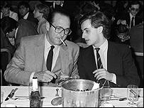 ساركوزي مع شيراك يوم 24 مارس 1981