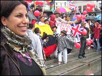 Latin American contingent