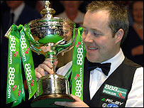 John Higgins last won the title in 1998