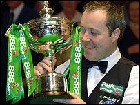 John Higgins last won the title in 1998
