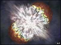 Астрономы увидели самую яркую сверхновую