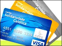 """Tarjeta de crédito """"Solidaridad Católica"""", lanzada por la iglesia en Brasil"""