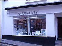Originality, Fore Street, Totnes