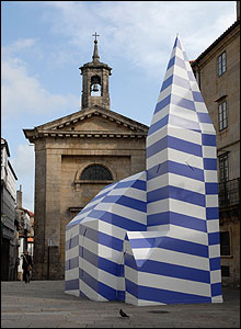 Camouflage Church 2006 � Nathan Coley courtesy doggerfisher and Haunch of Venison