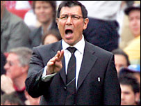 Fulham caretaker boss Lawrie Sanchez