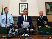 Portuguese police press conference over abduction of Madeleine McCann