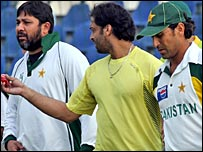 Inzamam, Shoaib Akhtar and Younis Khan