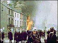 'The Battle of the Bogside', Londonderry, 13 August 1969