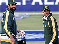 Inzamam and Shoaib Malik