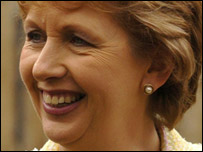 Irish Republic President Mary McAleese