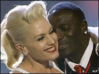 Gwen Stefani and Akon