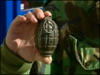 World War Two grenade (generic)