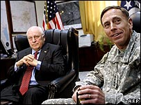 Gen Petraeus and Dick Cheney