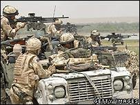 Tropas de la OTAN en Sangin