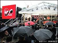 Virgin Media launch in Covent Garden