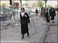 Street scene in Suleimaniya