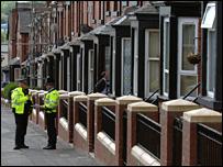 Police in Tempest Road, Beeston, Leeds
