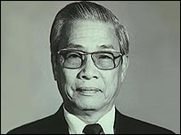 Vo Van Kiet [archive photo from 1991]