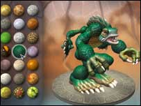 Spore screenshot, EA