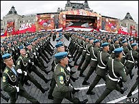 Soldiers on Red Square