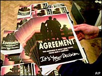 Copies of the Good Friday Agreement