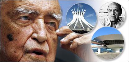 Oscar Niemeyer, Catedral de Brasilia, Museo Niteroi.