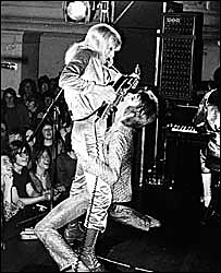David Bowie and Mick Ronson (c) Mick Rock www.mickrock.com
